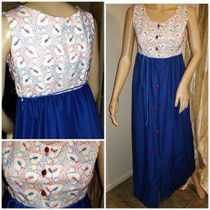 Authetnic 60s maxi dress